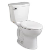 White Cadet PRO Elongated Toilet 10' Rough-In