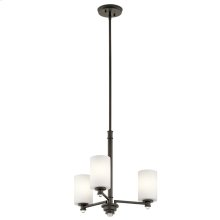 Joelson Collection Joelson 3 Light Chandelier OZ