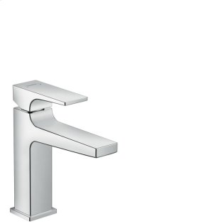 Chrome Single-Hole Faucet 110 with Lever Handle and Pop-Up Drain, 1.2 GPM