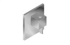 Qubic Tre M-Series Thermostatic Valve Trim with Handle