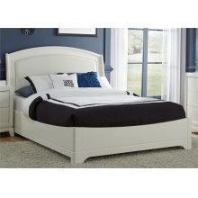 Queen Leather Bed