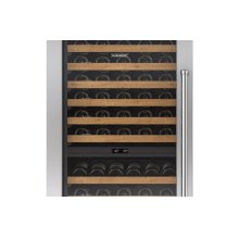 """Integrated Stainless Steel 30"""" Tall Wine Storage Door Panel with Pro Handle - Right Hinge"""