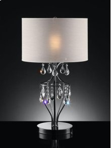 REFINED CRYSTAL TABLE LAM