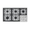 """Dacor Heritage 36"""" Dual Gas Cooktop, Natural Gas/high Altitude"""