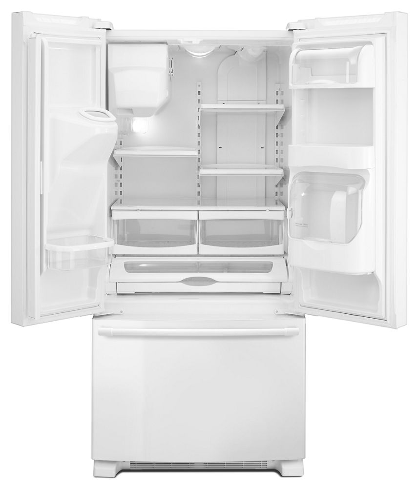 Mfi2269frwmaytag 33 Inch Wide French Door Refrigerator With