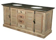 Reclaimed Pine Double Vanity Product Image