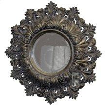 Antique Silver Decorative Resin Mirror