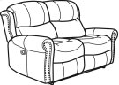 Walden Fabric Reclining Loveseat Product Image