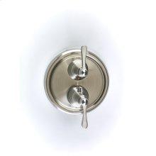 Dual Control Thermostatic with Volume Control Valve Trim Berea (series 11) Satin Nickel
