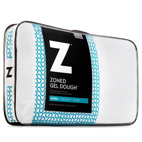 Zoned Gel Dough - Queen Mid Loft