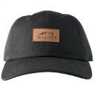 Curved Bill Adjustable Hat - Black Product Image