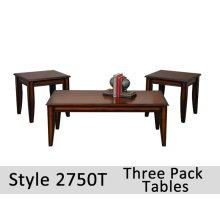 2750T - 2750 Dark Scoop Tables