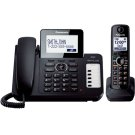Expandable Corded/Cordless Phone with 1 Corded Handset and 1 Cordless Handsets Product Image