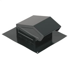 "Roof Cap, Black, 3"" or 4"" Round Duct"