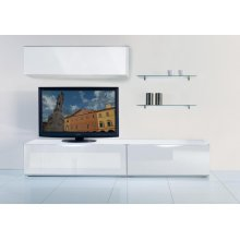 Modrest Modena - MO-USA2 White Made in Italy TV Entertainment System