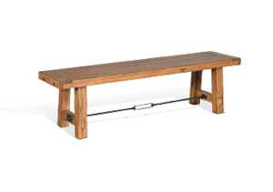 Sierra Bench w/ Turnbuckle w/ Wood Seat