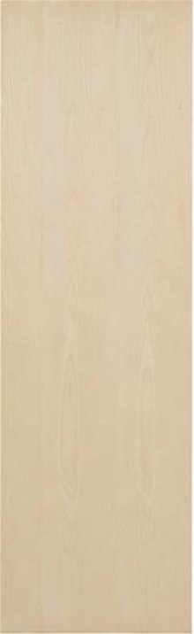Unfinished Birch flat panel door for ironing center