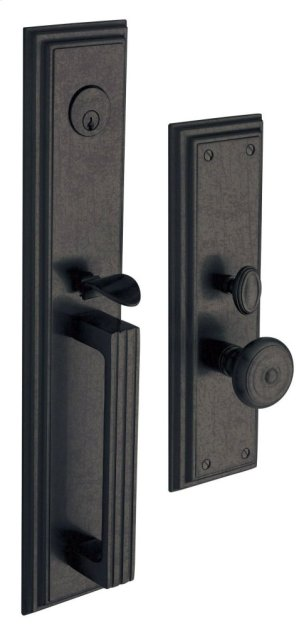 Distressed Oil-Rubbed Bronze Tremont Entrance Trim