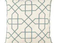 Vintage Mint Trellis Pillow
