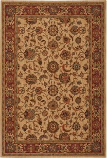 Hard To Find Sizes Grand Parterre Pt01 Natrl Rectangle Rug 6' X 9'