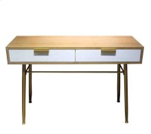 Wooden 2-drawer Console Table, Brown, Kd