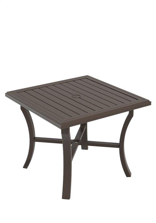"""Banchetto 36"""" Square Dining Umbrella Table"""