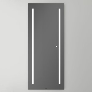"""Aio 29-1/8"""" X 69-7/8"""" X 1-1/2"""" Full Length Lighted Mirror With Lum Lighting At 4000 Kelvin Temperature (cool Light), Dimmable and Usb Charging Ports Product Image"""