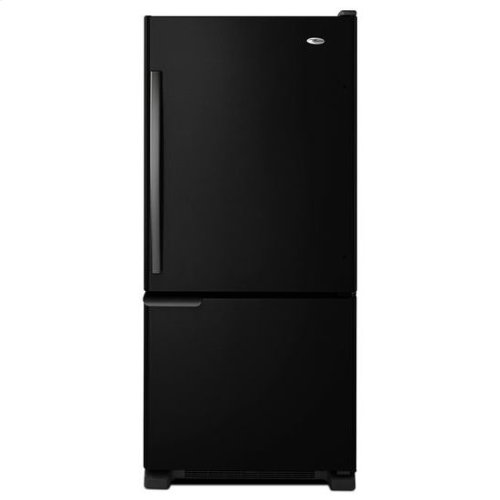 18.5 cu. ft. Bottom-Freezer Refrigerator with ENERGY STAR® Qualification - stainless_steel
