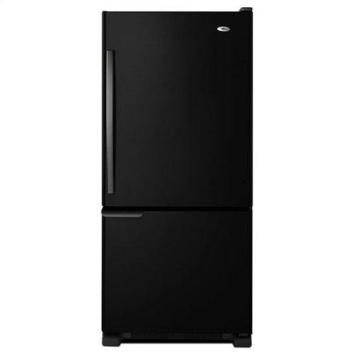 18.5 cu. ft. Bottom-Freezer Refrigerator with ENERGY STAR® Qualification - white