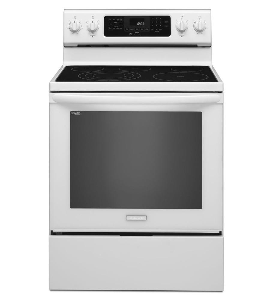 KitchenAid® 30 Inch 5 Element Electric Freestanding Range, Architect®  Series II