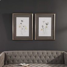 Stem Illusion Framed Prints, S/2