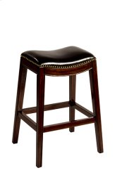 Sorella Non-swivel Backless Bar Stool - Full K/d Construction