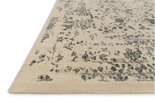 Ant Ivory / Slate Rug