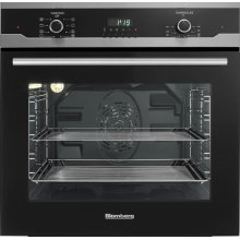 "24""W Electric Wall Oven, Black"