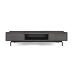 Bdi FurnitureLow Triple Width Cabinet 8323 in Graphite