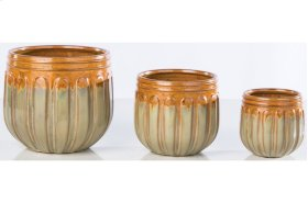 Terra Chancel Cachepot - Set of 3
