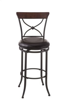 Cameron X Back Swivel Barstool