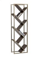 Voss Bookcase - Nickel Product Image