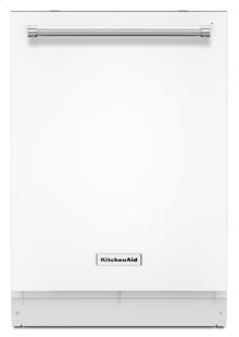 44 dBA Dishwasher with Dynamic Wash Arms - White