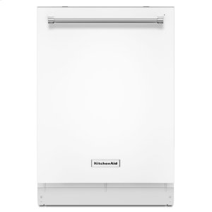 44 dBA Dishwasher with Dynamic Wash Arms - White - WHITE