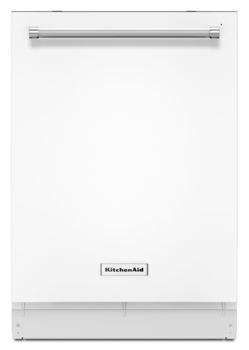 44 dBA Dishwasher with Dynamic Wash Arms - White