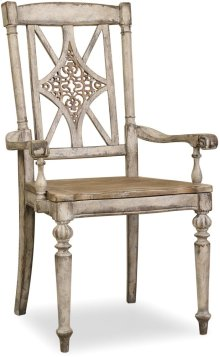 Chatelet Fretback Arm Chair