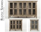 """Rustic Shores Watch Hill Weathered Grey 32"""" Accent Cabinet Product Image"""
