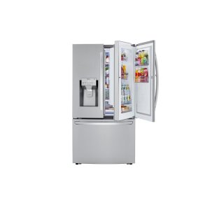 LG 鸭博娱乐s30 cu. ft. Smart wi-fi Enabled Door-in-Door® Refrigerator with Craft Ice™ Maker