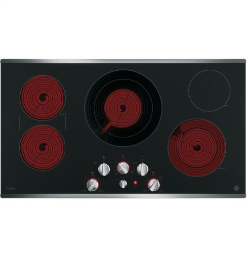"GE Profile™ Series 36"" Built-In Knob Control Cooktop"