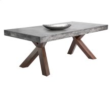 Warwick Rectangular Dining Table - Grey