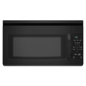 Amana® 1.5 cu. ft. Amana® Over the Range Microwave with Auto Defrost - Black