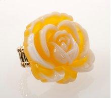 BTQ Yellow Rose Ring
