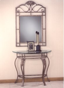 Bordeaux Console Table and Mirror