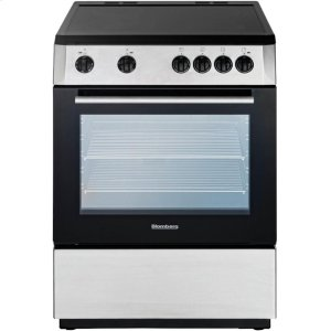 "Blomberg24"" Electric, non-convection, smooth top 4 zone, stainless"